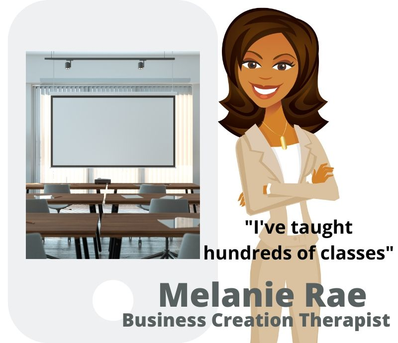 Melanie Rae - business creation therapist