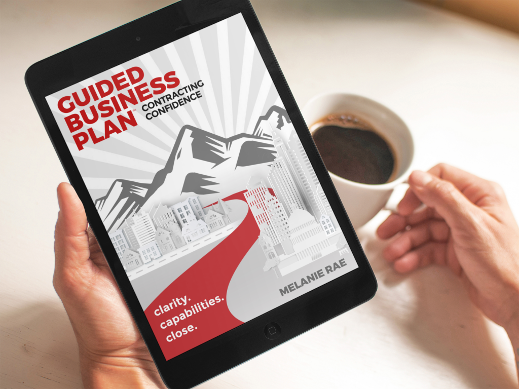 GUIDED Business Plan - Contracting Confidence - Online E-Workbook